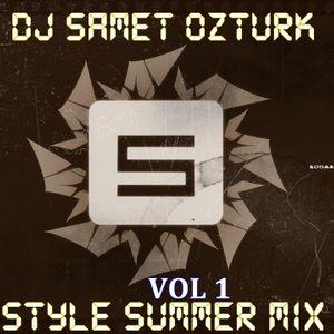 DJ SAMET OZTURK V.I.P LIVE MIX VOL.1