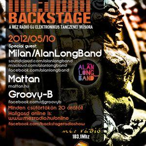 Back Stage Radio Show Live Veszprem - Milan/alanlongband