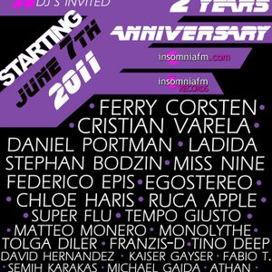 Tino Deep-2 Year Anniversary@InsomniaFm [June 7th 2011]