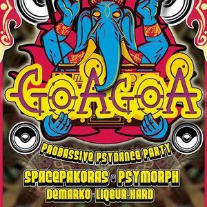 PsyMorph & DeMarko Live@K19GoaGoa Kassel2015 - 01 - 18