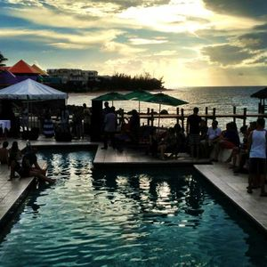 Sunset Series Party @ Compass Point (live) Sept 2012