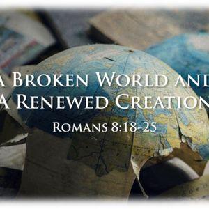 October 11, 2015 - A Broken World and a Renewed Creation - Romans 8:18-25