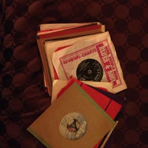 "A box of 7""s my Auntie Sue passed down to me.....a lot of Northern Soul"