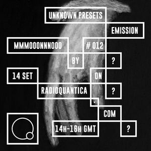 Unknown Presets by MMMOOONNNOOO #12 (14/09/2016) w/ guests Pedro Lopes & Diana Combo (Eosin) [live]