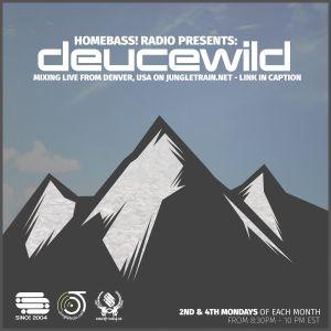 Deucewild - HomeBASS Radio 22 Aug 2016