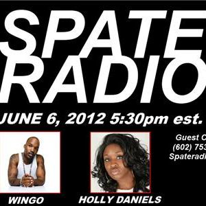 Wingo (Jagged Edge) on Spate Radio with Holly Hi Def Daniels