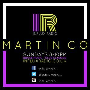 DJ Martin Co Live On Influx Radio Sunday 18th December 2016