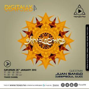 Juan Sando & Shivatronics - Digitally Confused @ Tenzi.fm