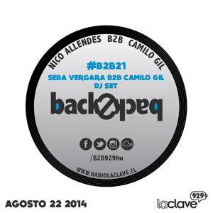 #B2B21 - Seba Vergara B2B Camilo Gil - 22 agosto 2014