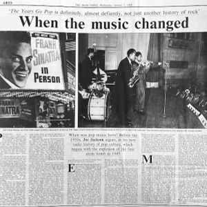 Joe Jackson's History of Pop Culture. Part One. 1945