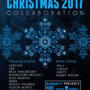 YUBEAT - Christmas Collaboration ( EDM Dnepr mix 7.01.17 )