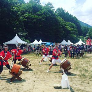 British Embassy Tokyo Taiko Drumming Team Interview 2017