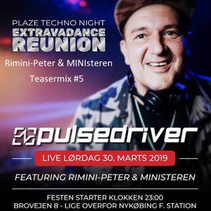 Rimini-Peter & MINIsteren - The Plaze // Extravadance Reunion Teaser #5 30.03.2019