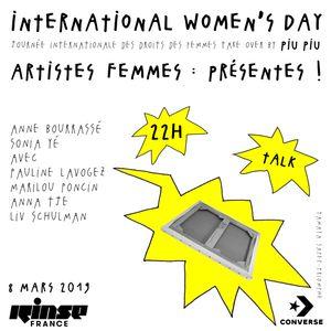 Women's Day Take Over : Artistes Femmes : Presentes ! - 08 Mars 2019