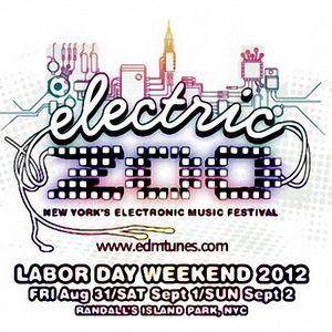 Porter Robinson – Live @ Electric Zoo (New York City) – 02.09.2012