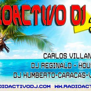 RADIOACTIVO DJ 35-2015 BY CARLOS VILLANUEVA