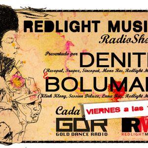 Redlight Music Radioshow 008 @ Gold Dance Radio // By Bolumar