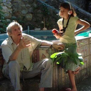 Les enfants de Largentière à la rencontre du peintre Yankel
