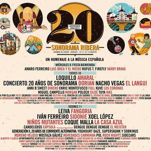 Sonorama Ribera 2017 - 20º Aniversario, Aranda de Duero  / Carpa Circo Meetin Arts (11/08/2017)