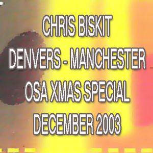 Chris Biskit - Denvers, Manchester - Xmas Special - Dec 20th 2003 [old skool house]