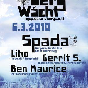 Spada @ BergWacht ARTheater Cologne 06.03.2010