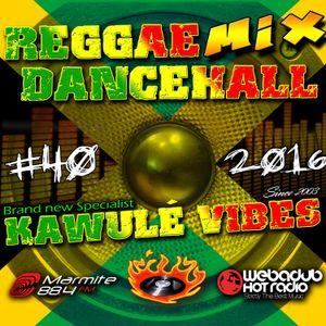 17.12.2016 Reggae Dancehall Kawulé Vibes Radio Show #40-2016