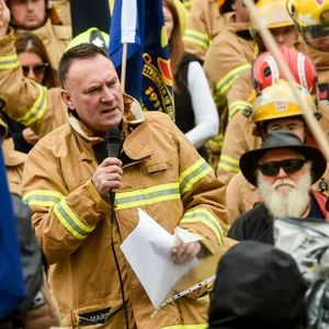 Neil Mitchell clashes with UFU secretary Peter Marshall over MFB concerns