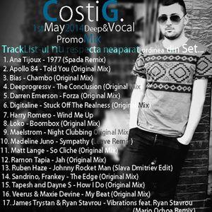 Costi G - 1stMay2014 Deep&Vocal PromoMix
