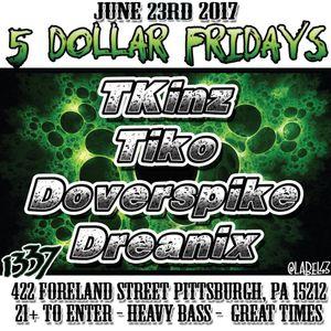 Doverspike - Live at 5 Dollar Fridays! - Glitch Hop/Trap