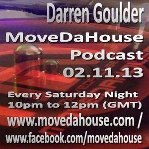 Darren Goulder on MoveDaHouse 02.11.13