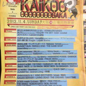 Live at KAIKOOOOOOOOOOSAKA 20121104 mixed by NICE☆J