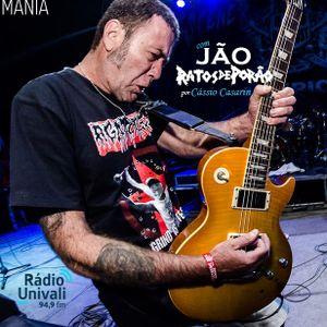 Rock Mania #383 - com Jão do Ratos de Porão - 23/06/19
