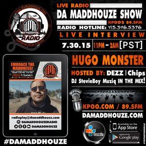 Da Maddhouze interviews Hugo Monster on KPOO 89.5 FM
