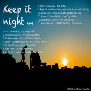 Keep it night (2014,06)