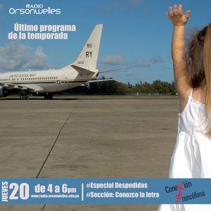 "Conexión Francófona 20-08-15 - Especial ""Despedidas"" - Último programa de la temporada."