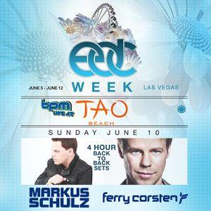 Markus Schulz b2b Ferry Corsten - Live at Tao Beach, Las Vegas - 10.06.2012