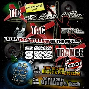Tic Tac Trance #048 with Martin Mueller: End Of Year Edition