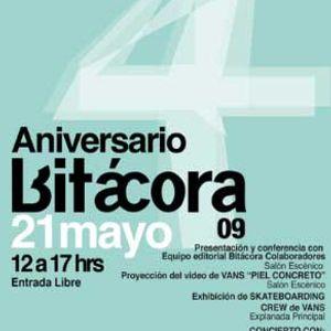 Iztapalabra entrevista a Bagginz realizada en el marco del aniversario de Bitacora!!