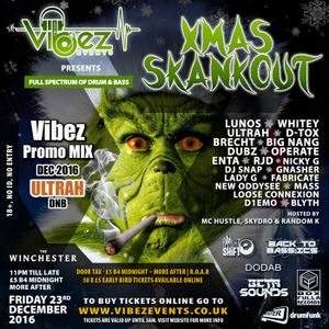Vibez Promo Mix - December 2016 - ULTRAH - Drum & Bass