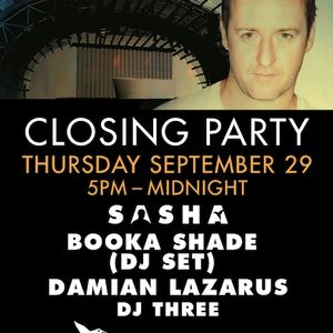 Sasha - Live @ Never Say Never closing party (Ushuaia Hotel, Ibiza) - 29-Sep-2011