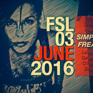 FSL Podcast 03 June 2016 - Simple Freak Live