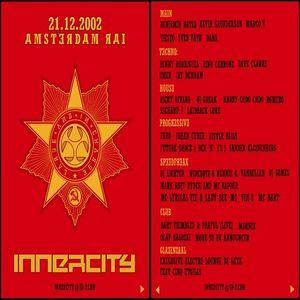 Dave Clarke @ Innercity - RAI Center Amsterdam - 21.12.2002