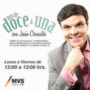 De doce a Una Con Jessie Cervantes 07 de Abril 2016