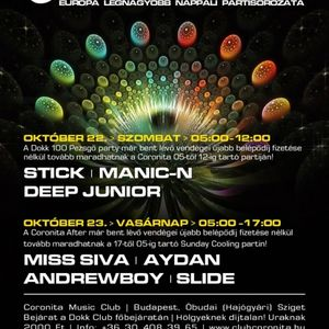 Miss Siva, Aydan, Andrewboy, Slide - Live @ Coronita Club, Budapest After Party (2011-10-23)