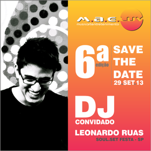 Dj set mixed by Leonardo Ruas (MAELuv - set 2013)