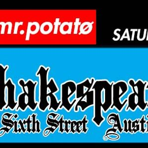 LIVE MIX @ Shakespeare Pub Austin (Ale House) - Saturday, April 30th, 2K16