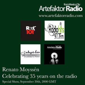 RENATO MOYSSEN - CELEBRATING 35 YEARS ON THE RADIO