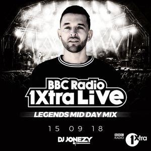 DJ Jonezy - BBC Radio 1Xtra - 1Xtra Live Mini Mix