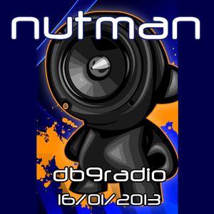 nutman on DB9 Radio - d&b - 16/01/2013