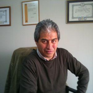 Mario Aguilar, dirigente Colegio de Profesores, candidato a alcalde Santiago 2012 10 09
